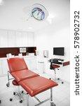 stretcher in hospital | Shutterstock . vector #578902732