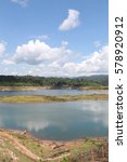 lake landscape on summer | Shutterstock . vector #578920912