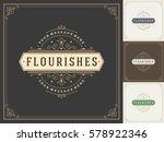 royal logo design template... | Shutterstock .eps vector #578922346