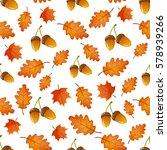colorful cartoon seamless... | Shutterstock .eps vector #578939266