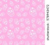 Pale Pink Seamless Pattern Wit...