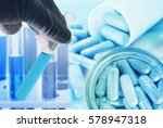 research medicine at science... | Shutterstock . vector #578947318