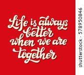 hand lettering typography... | Shutterstock .eps vector #578950846