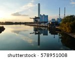 coal power plant r on the side...