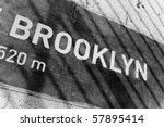 A Sign That Reads Brooklyn On ...