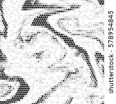 abstract grunge grid polka dot... | Shutterstock .eps vector #578954845