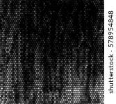 abstract grunge grid polka dot... | Shutterstock .eps vector #578954848