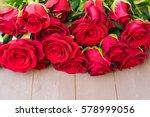 Dark Red Buds Of Valentines Da...