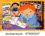 australia   circa  2007 ... | Shutterstock . vector #57900547