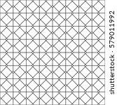 interlocking tessellation... | Shutterstock .eps vector #579011992