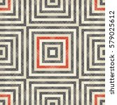 abstract striped geometric... | Shutterstock .eps vector #579025612