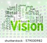 vision word wordcloud