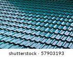 Dark Green Color Roof Tile