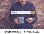 www concept | Shutterstock . vector #579035632