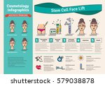 vector illustrated set with... | Shutterstock .eps vector #579038878