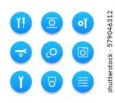 settings  configuration icons