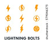 Lightning Bolt Vector Signs ...