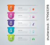 infographics design vector and...   Shutterstock .eps vector #579065398