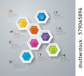 infographics design vector and... | Shutterstock .eps vector #579065896
