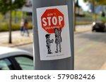 Artistic Sticker Or Street Art...