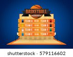 vector of basketball match with ... | Shutterstock .eps vector #579116602