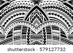 samoa style ornament. good for... | Shutterstock .eps vector #579127732