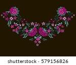vector design for collar t... | Shutterstock .eps vector #579156826