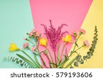 fashion design spring set.... | Shutterstock . vector #579193606