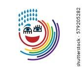 rainbow logo.