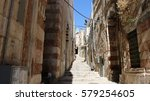 Via Dolorosa In The Old City O...