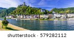 travel in germany   river... | Shutterstock . vector #579282112