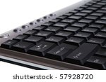 keyboard on a white background | Shutterstock . vector #57928720