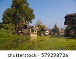 srinagar  jammu kashmir  india  ... | Shutterstock . vector #579298726