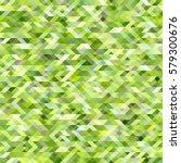 Luminous Green Geometric...