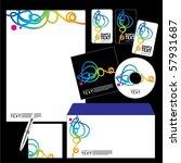 vector template background | Shutterstock .eps vector #57931687