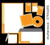vector template background | Shutterstock .eps vector #57931693