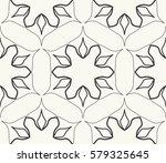 seamless geometric line pattern.... | Shutterstock .eps vector #579325645