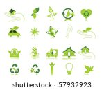 white background with set of... | Shutterstock .eps vector #57932923
