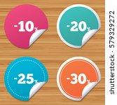 round stickers or website... | Shutterstock . vector #579329272