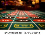roulette table thirty five | Shutterstock . vector #579334045
