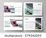 set of business templates for... | Shutterstock .eps vector #579342055