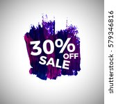 sale up to 30  off banner sign... | Shutterstock .eps vector #579346816