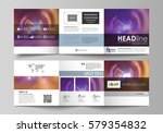 set of business templates for... | Shutterstock .eps vector #579354832