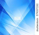 abstract digital geometric... | Shutterstock .eps vector #579357232