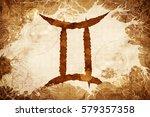 gemini zodiac sign   Shutterstock . vector #579357358