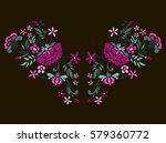 vector design for collar t... | Shutterstock .eps vector #579360772