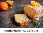 Fresh Loaf Of Orange Bread With ...
