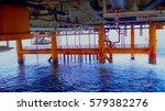 structure of under building... | Shutterstock . vector #579382276