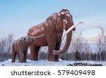 nadym  russia   circa january... | Shutterstock . vector #579409498