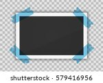vector paper frame isolated on... | Shutterstock .eps vector #579416956